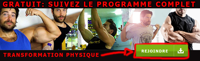 Programme de Musculation Gratuit Chris Braibant